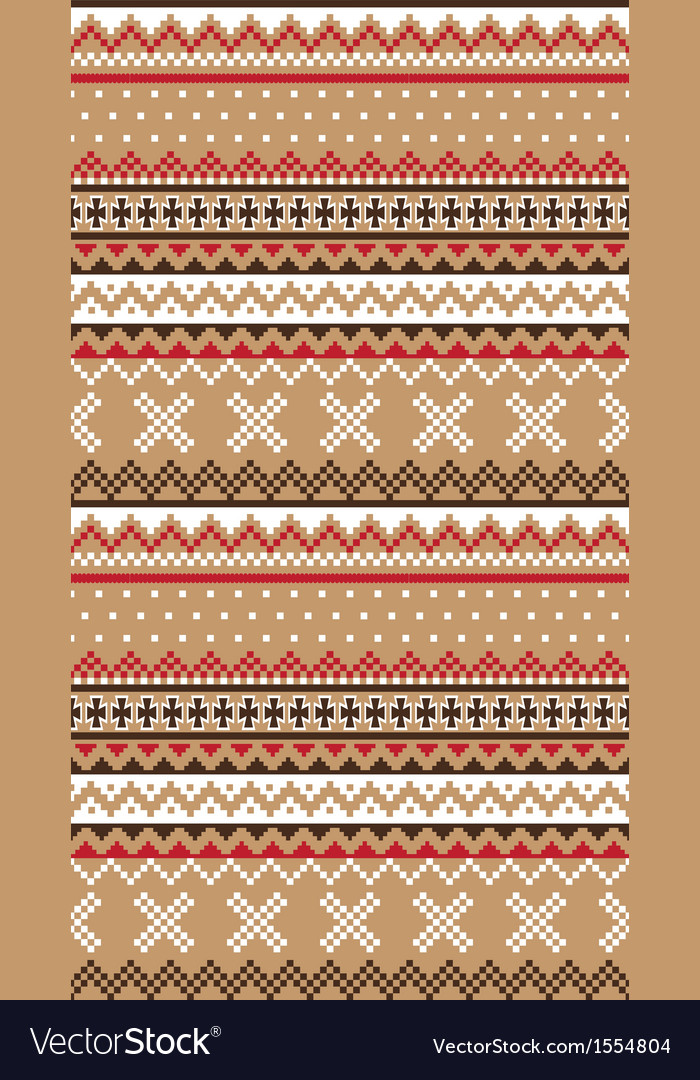 Seamless asian retro pattern print vector | Price: 1 Credit (USD $1)