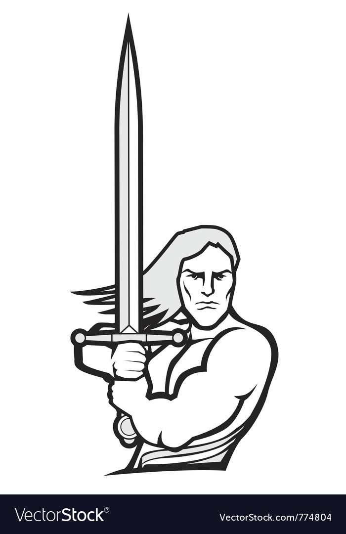 Warrior vector | Price: 1 Credit (USD $1)