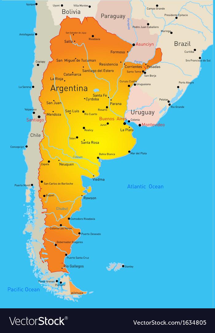 Argentina vector | Price: 1 Credit (USD $1)
