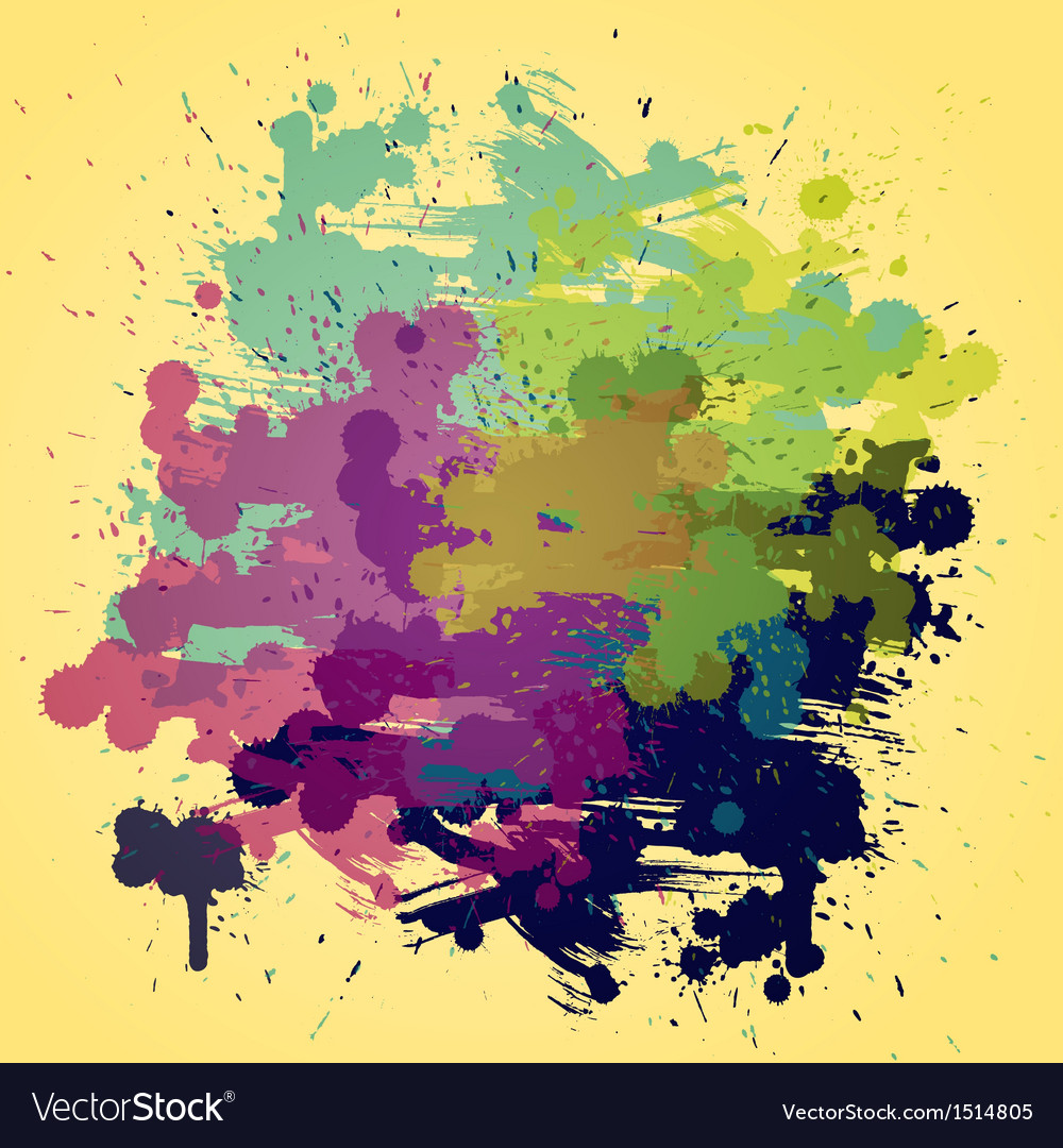 Artistic watercolor background with semi vector | Price: 1 Credit (USD $1)