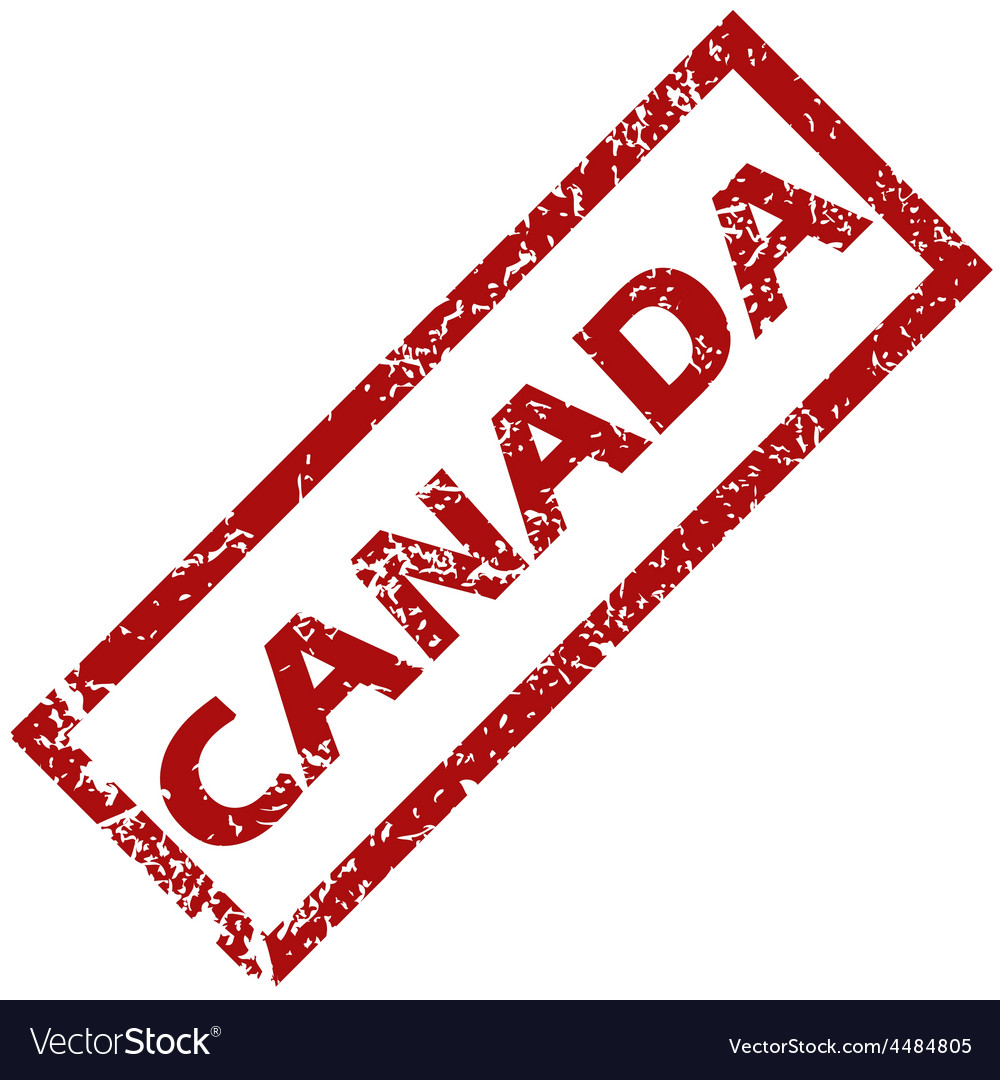 New canada rubber stamp vector | Price: 1 Credit (USD $1)