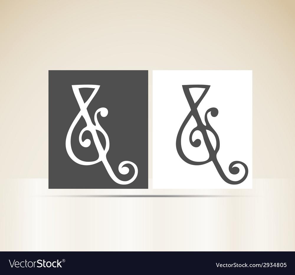 Retro alphabet letter and art deco vintage design vector | Price: 1 Credit (USD $1)