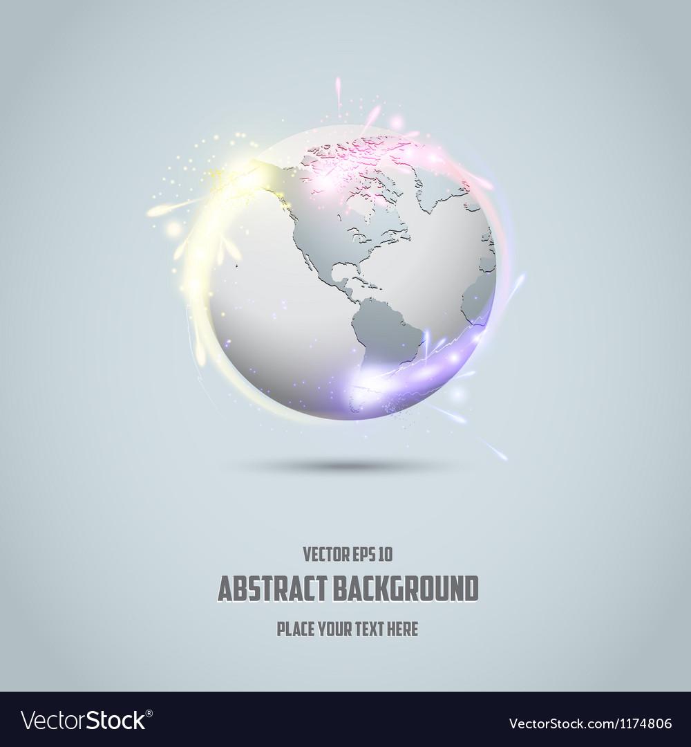 Globe icon 2 vector | Price: 1 Credit (USD $1)