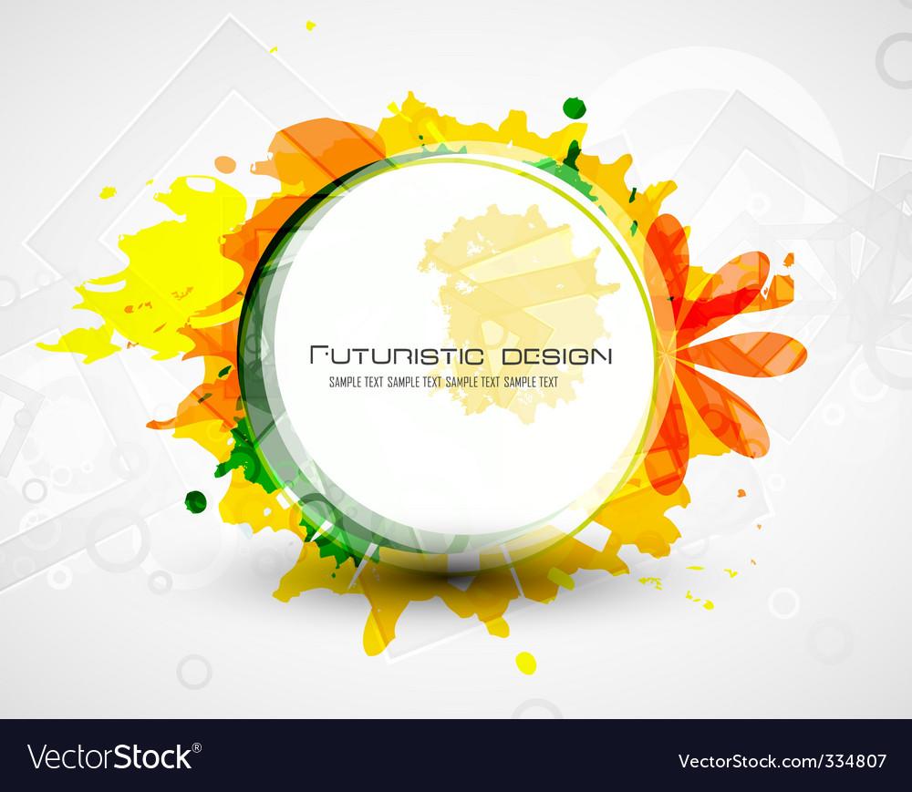 Futuristic design grunge vector | Price: 1 Credit (USD $1)