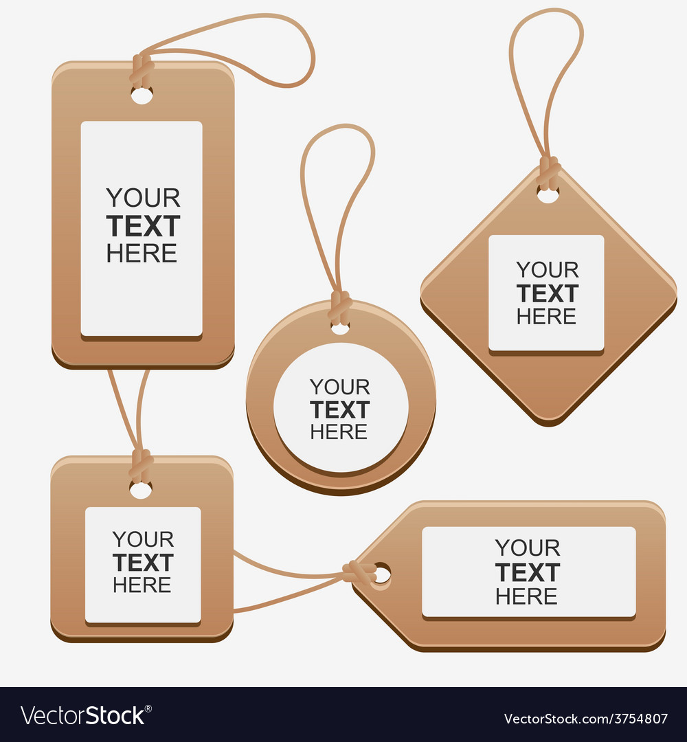 Labelcardboardsetcollection vector   Price: 1 Credit (USD $1)