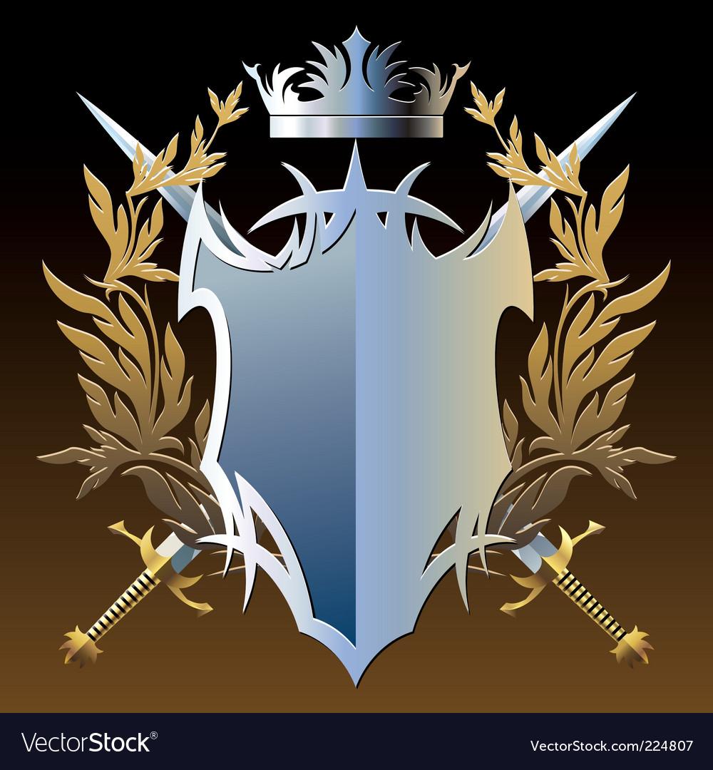 Military emblem vector | Price: 3 Credit (USD $3)