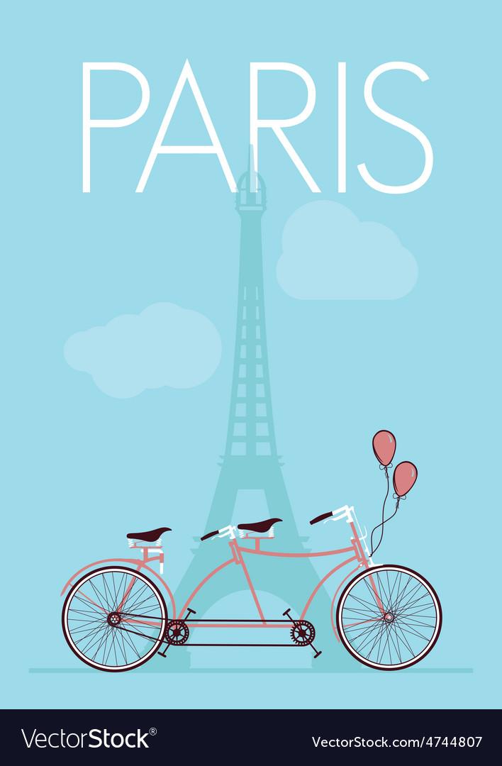 Paris romantika resize vector | Price: 1 Credit (USD $1)