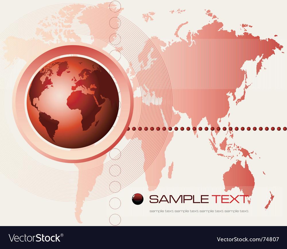 World map vector | Price: 1 Credit (USD $1)