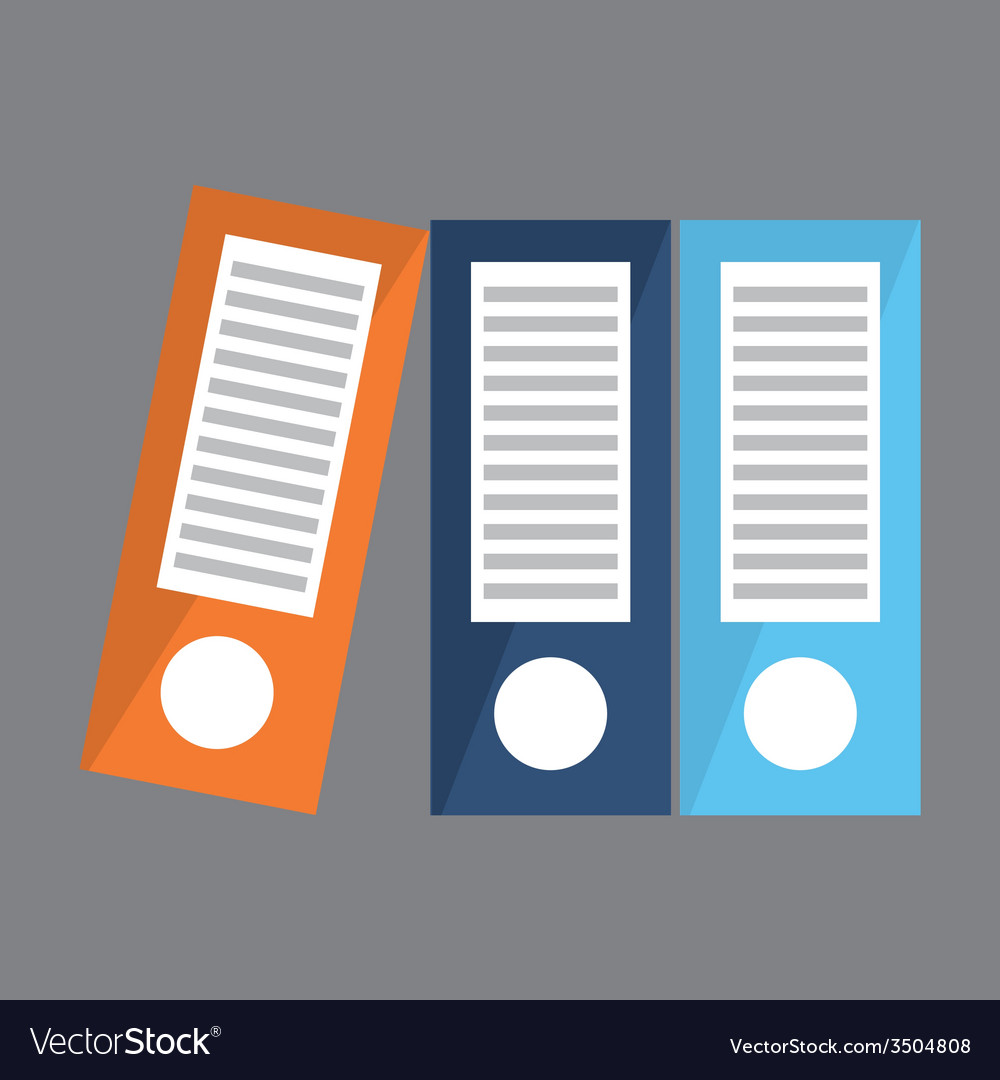 Binders design vector | Price: 1 Credit (USD $1)