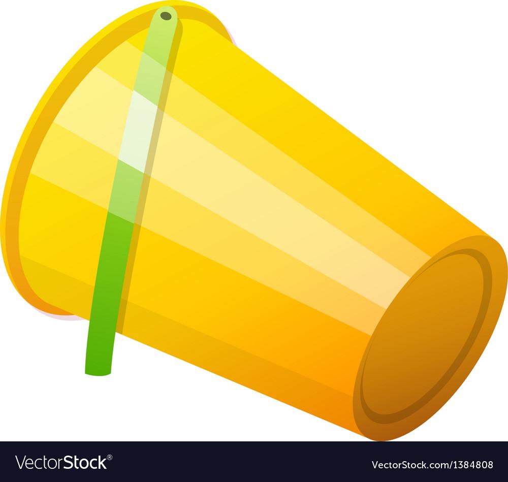 Icon bucket vector | Price: 1 Credit (USD $1)