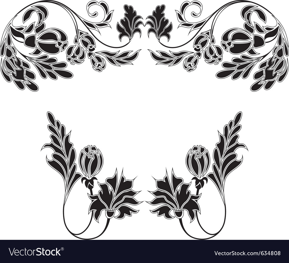 Vintage decoration vector   Price: 1 Credit (USD $1)