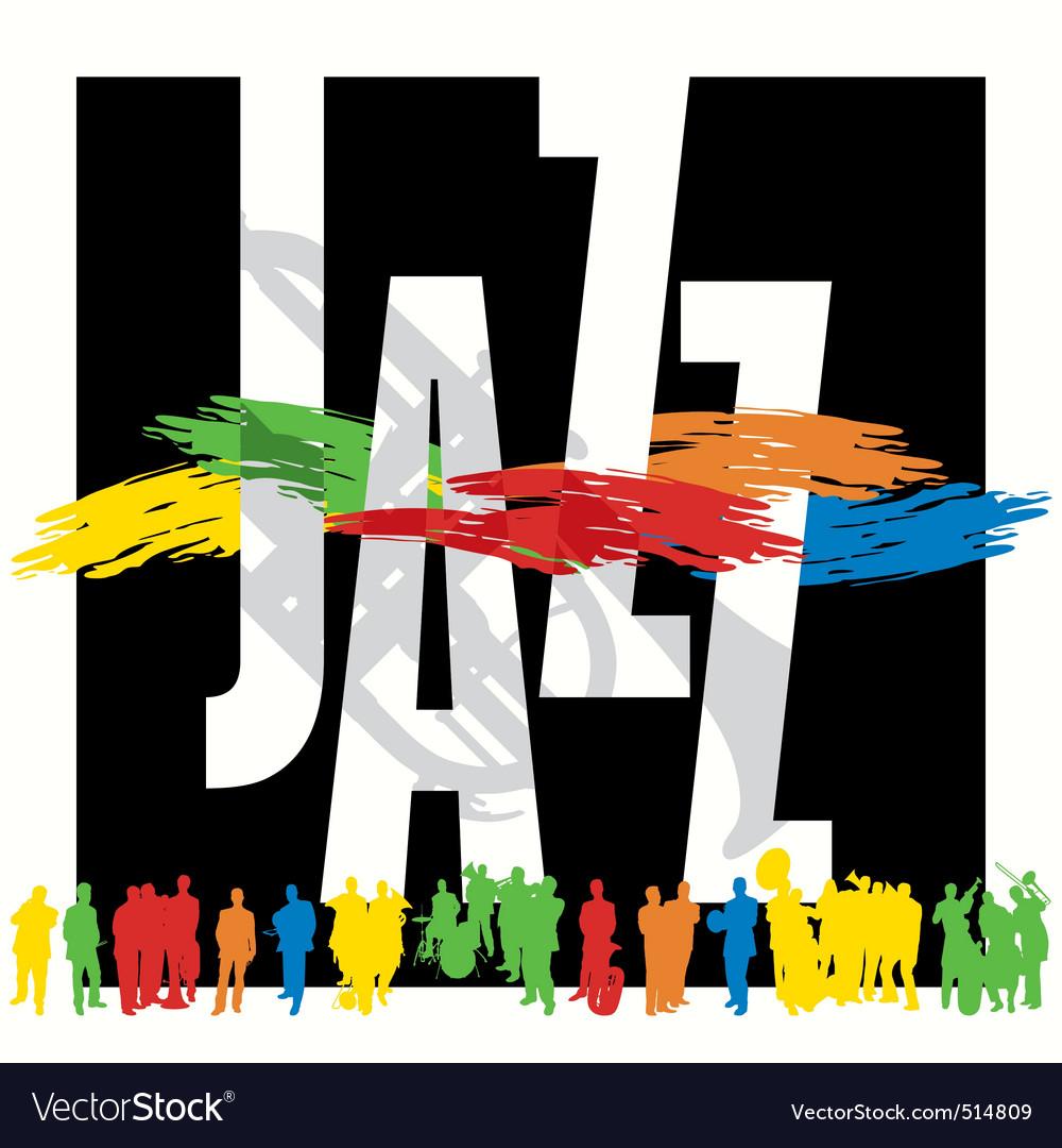 Jazz vector | Price: 1 Credit (USD $1)