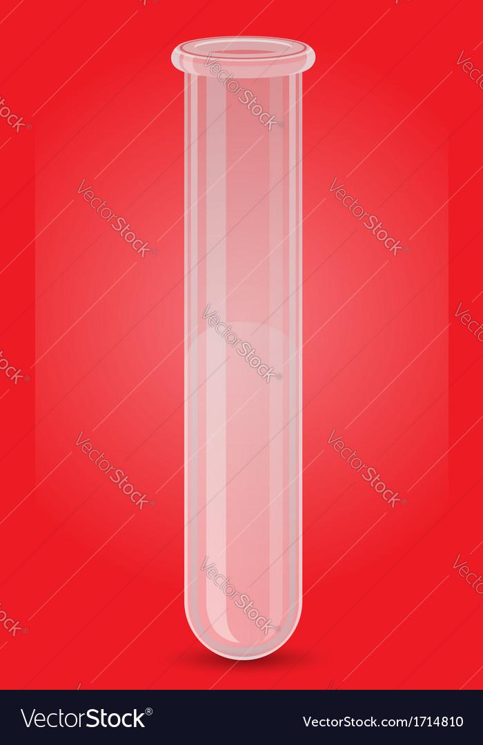 Glass tube 03 vector | Price: 1 Credit (USD $1)