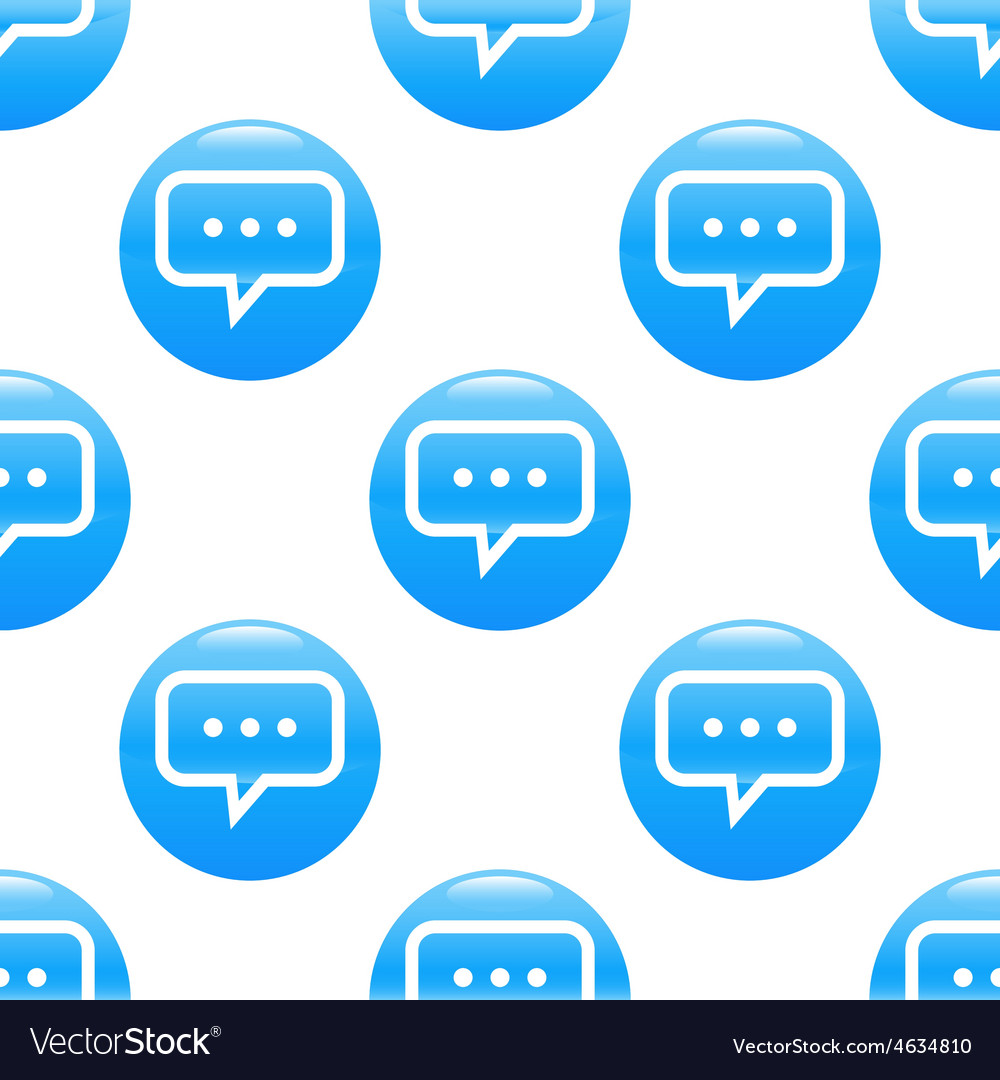 Typing message sign pattern vector | Price: 1 Credit (USD $1)