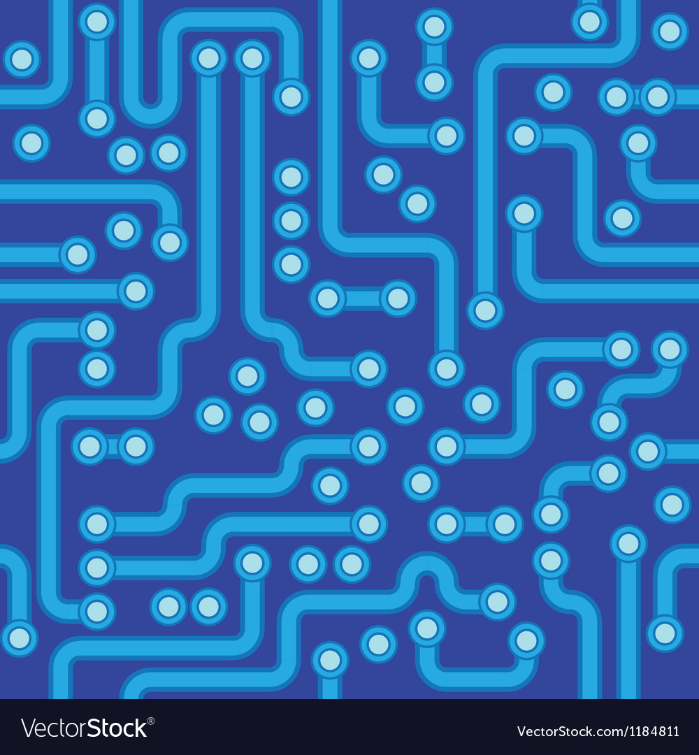 Abstract circuit board texture vector | Price: 1 Credit (USD $1)
