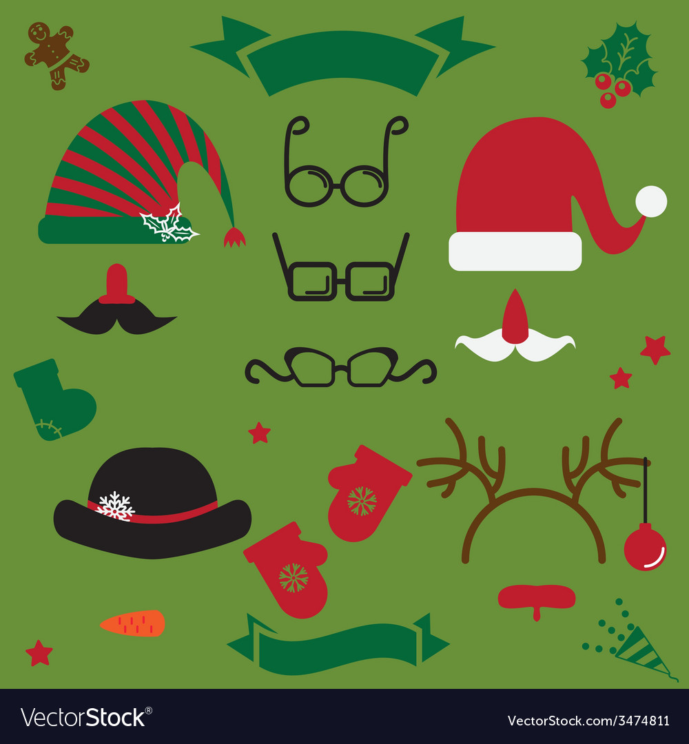 Christmas clothes vector | Price: 1 Credit (USD $1)