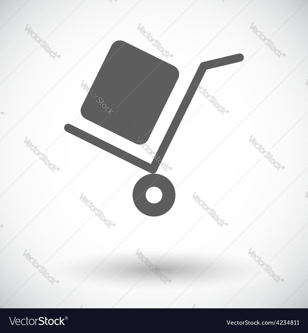 Delivery icon vector   Price: 1 Credit (USD $1)