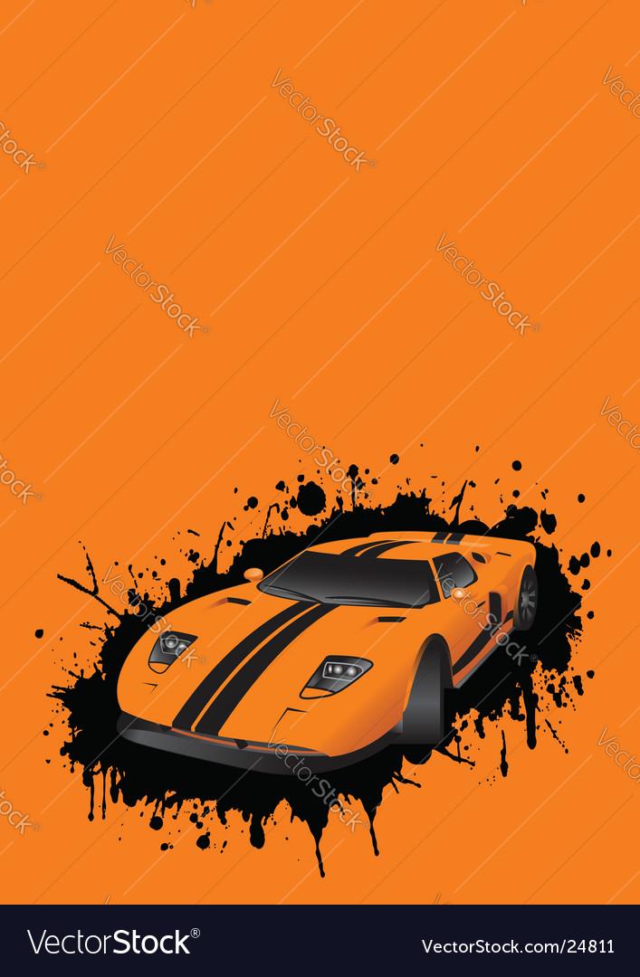 Fantastic car vector | Price: 1 Credit (USD $1)