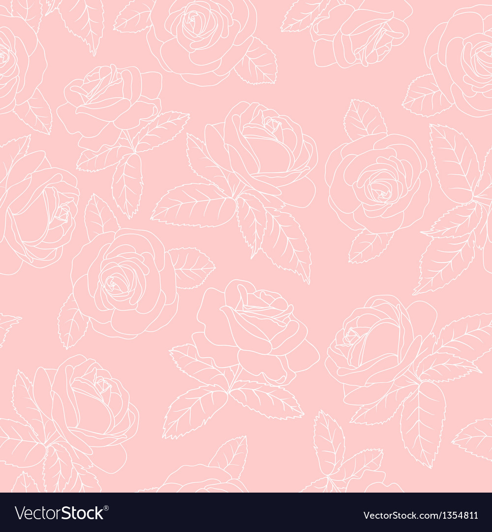 Pink roses vector | Price: 1 Credit (USD $1)