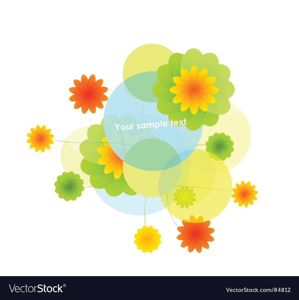 Light flora vector | Price: 1 Credit (USD $1)