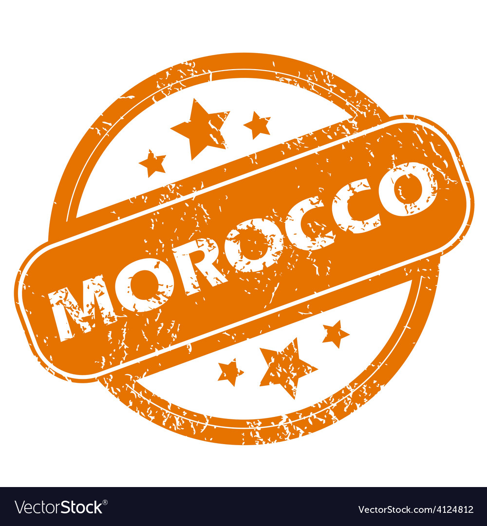 Morocco grunge icon vector | Price: 1 Credit (USD $1)