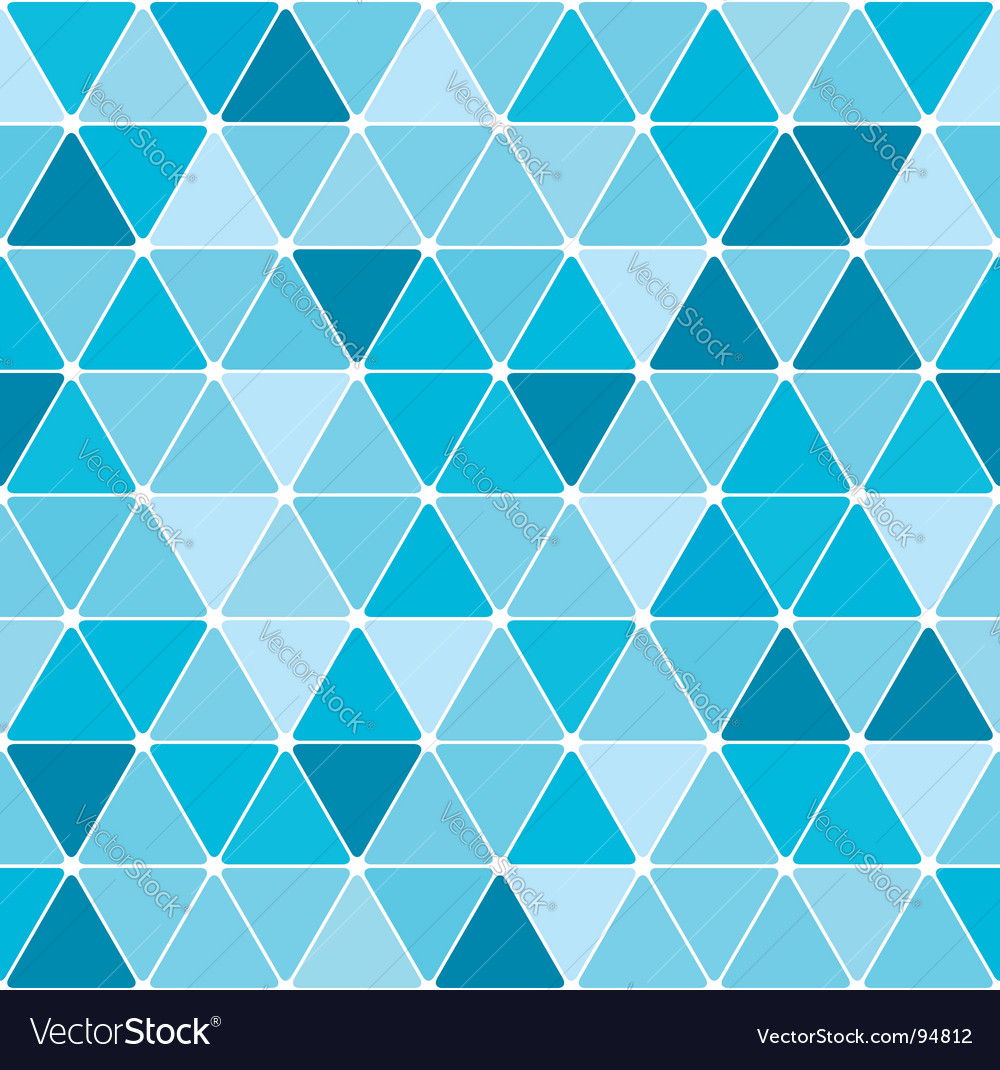 Winter triangle pattern background vector | Price: 1 Credit (USD $1)