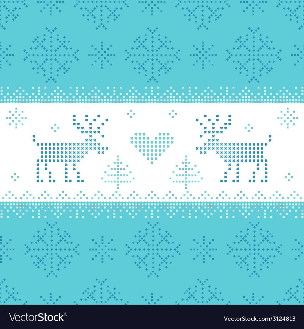 Christmas scandinavian card - for invitation vector | Price: 1 Credit (USD $1)