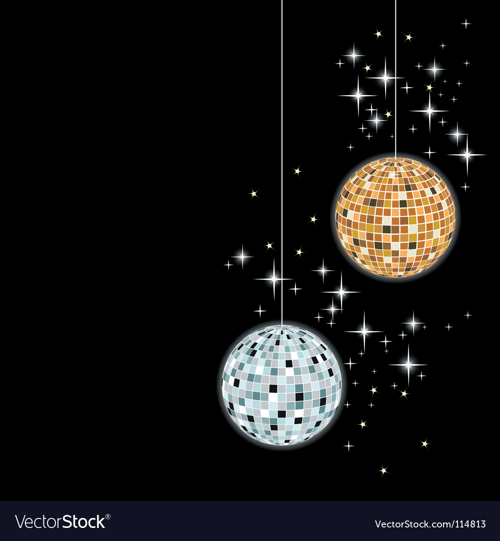 Disco sphere vector | Price: 1 Credit (USD $1)