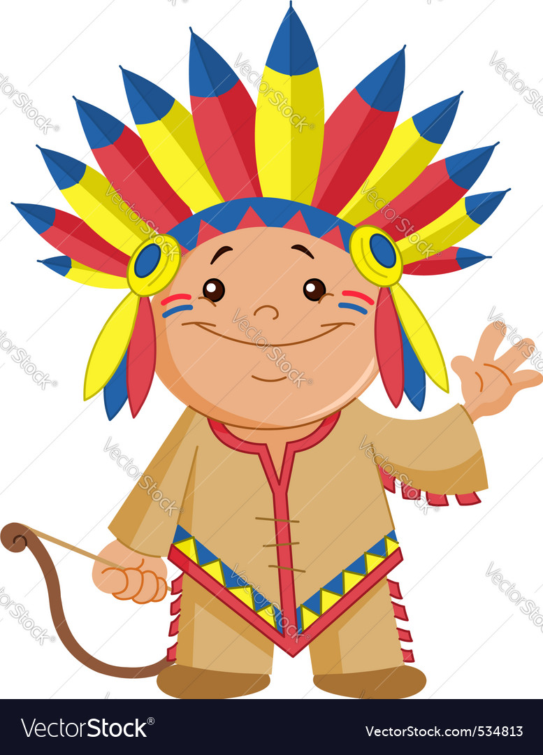 Indian kid vector | Price: 1 Credit (USD $1)