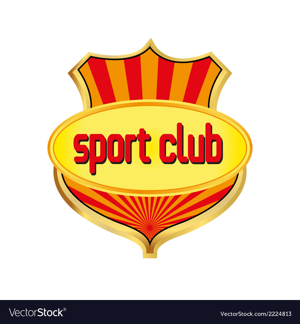 Sport club logo template vector | Price: 1 Credit (USD $1)