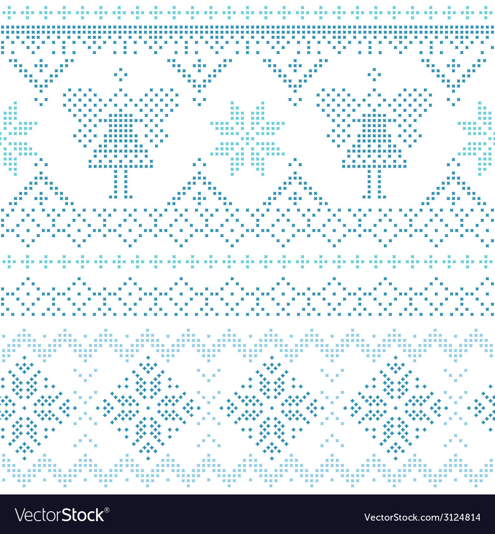 Christmas scandinavian card - for invitation vector | Price: 1 Credit (USD $1)