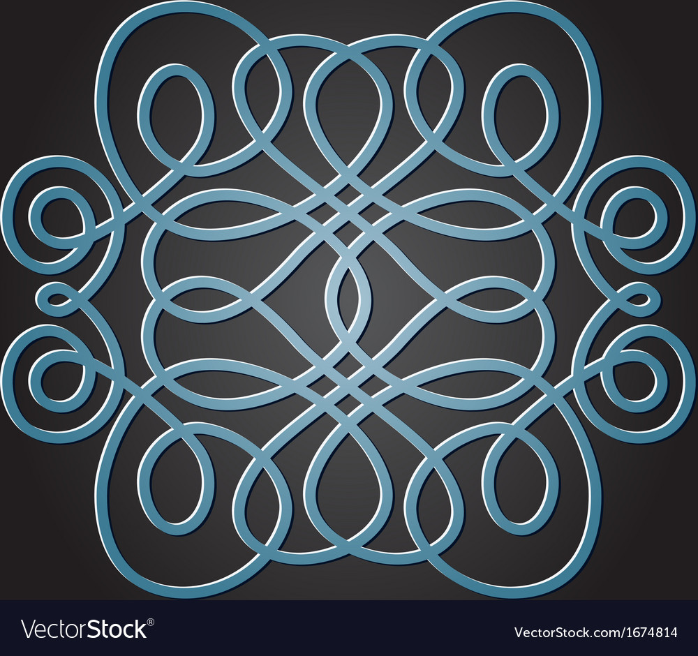 Decorative knot vector | Price: 1 Credit (USD $1)
