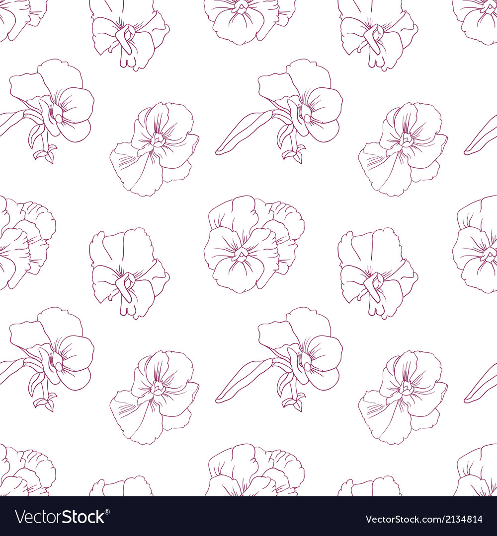 Elegant floral wallpaper vector | Price: 1 Credit (USD $1)