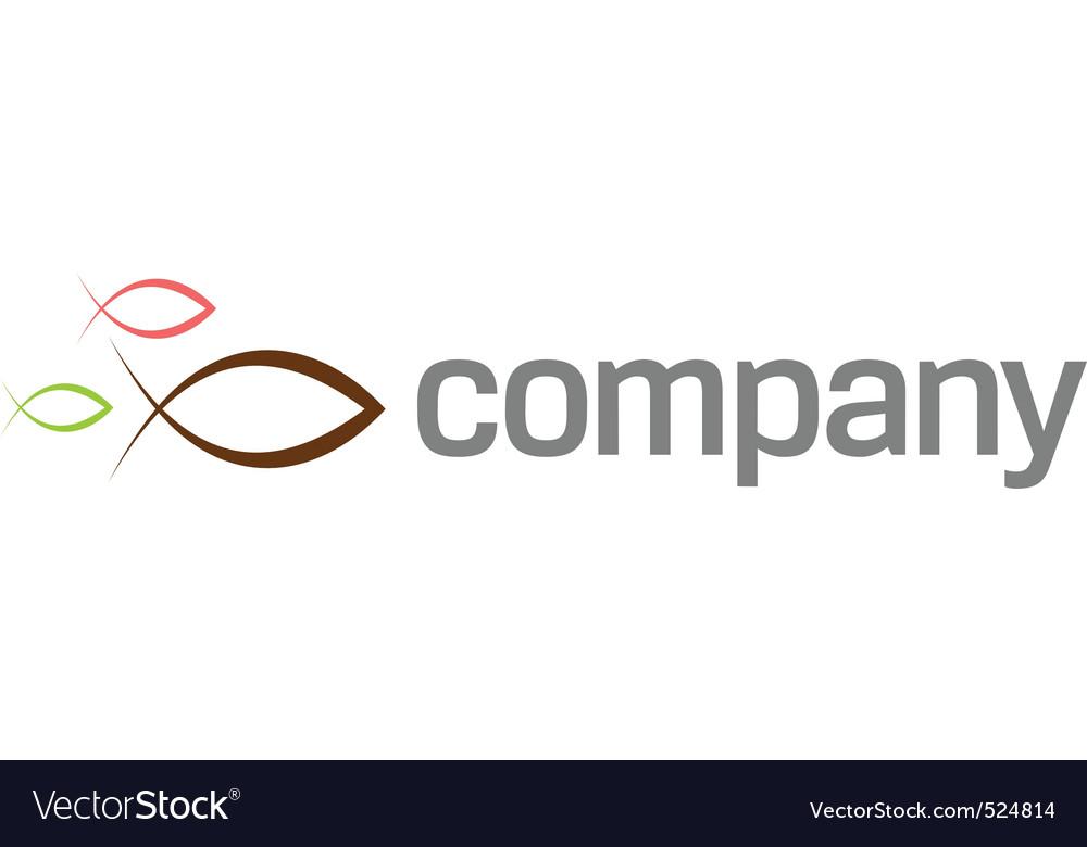 Ichthus symbol logo vector   Price: 1 Credit (USD $1)