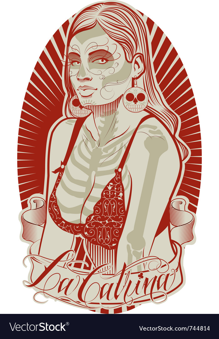La catrina vector | Price: 5 Credit (USD $5)