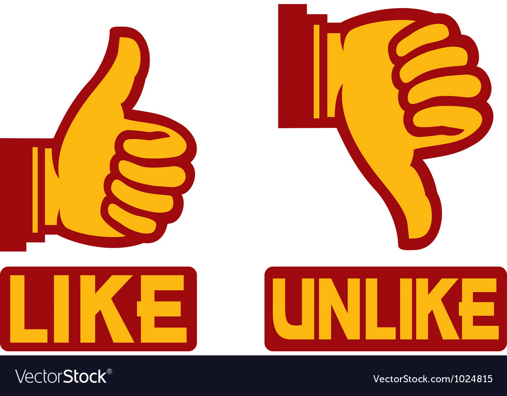 Like unlike sign vector   Price: 1 Credit (USD $1)
