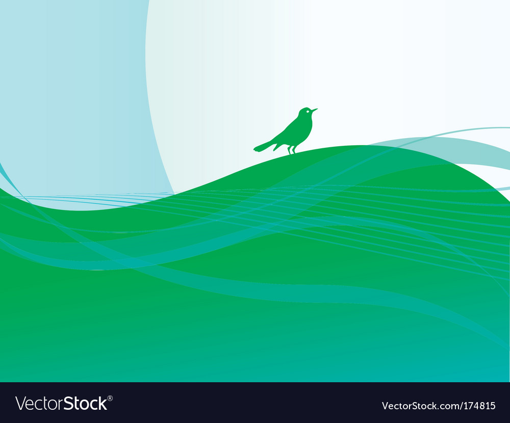 Song bird vector | Price: 1 Credit (USD $1)