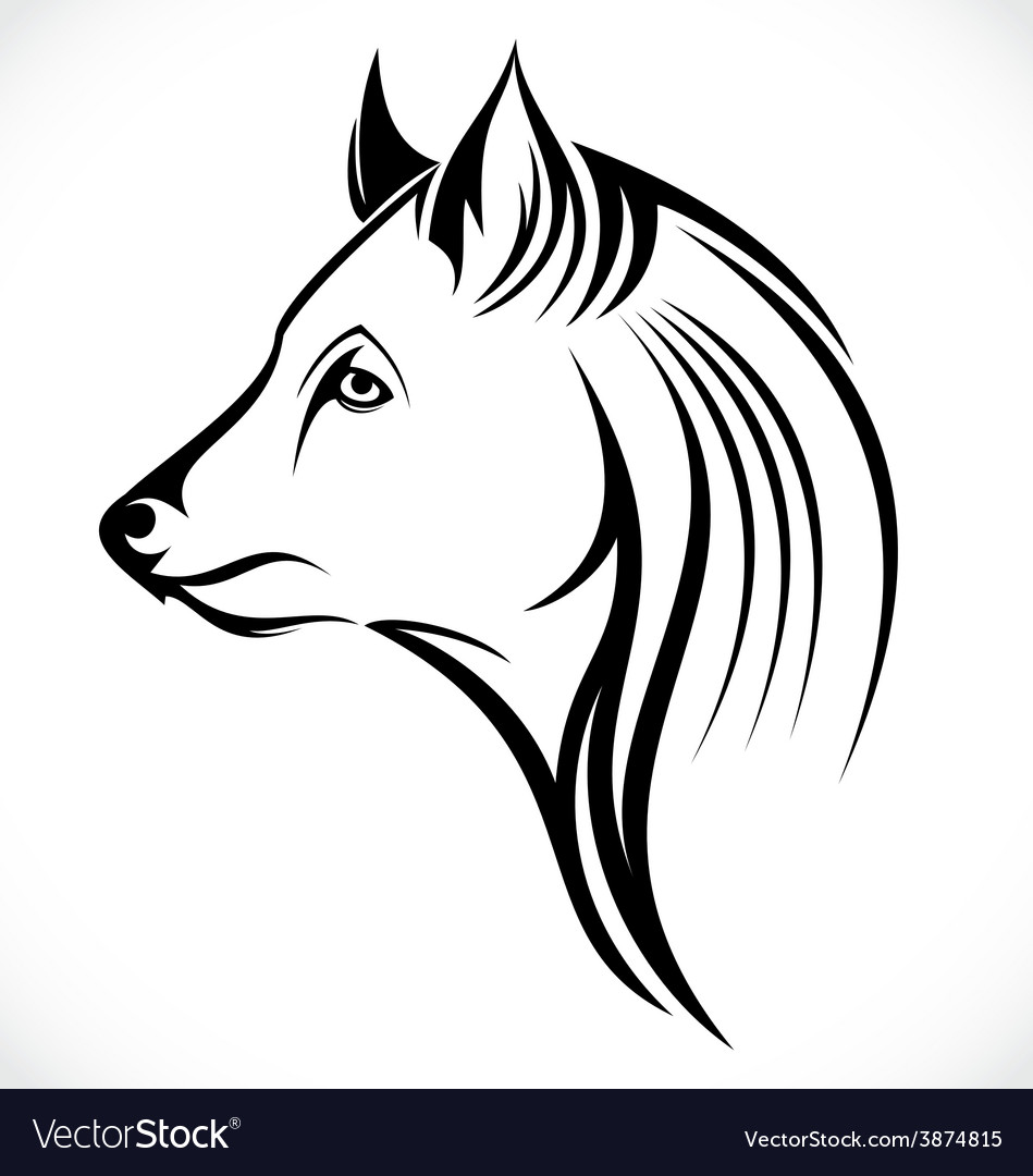 Tribal wolf vector | Price: 1 Credit (USD $1)