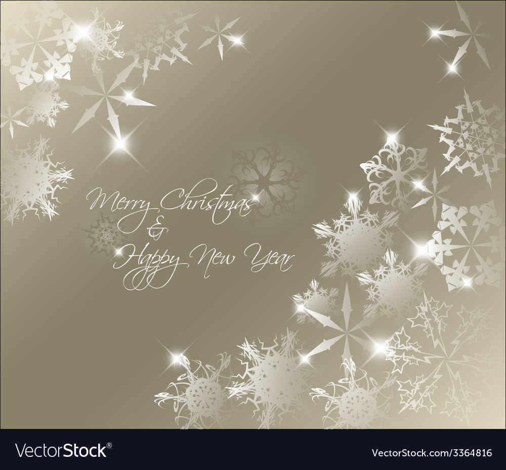 Golden abstract christmas background vector | Price: 1 Credit (USD $1)