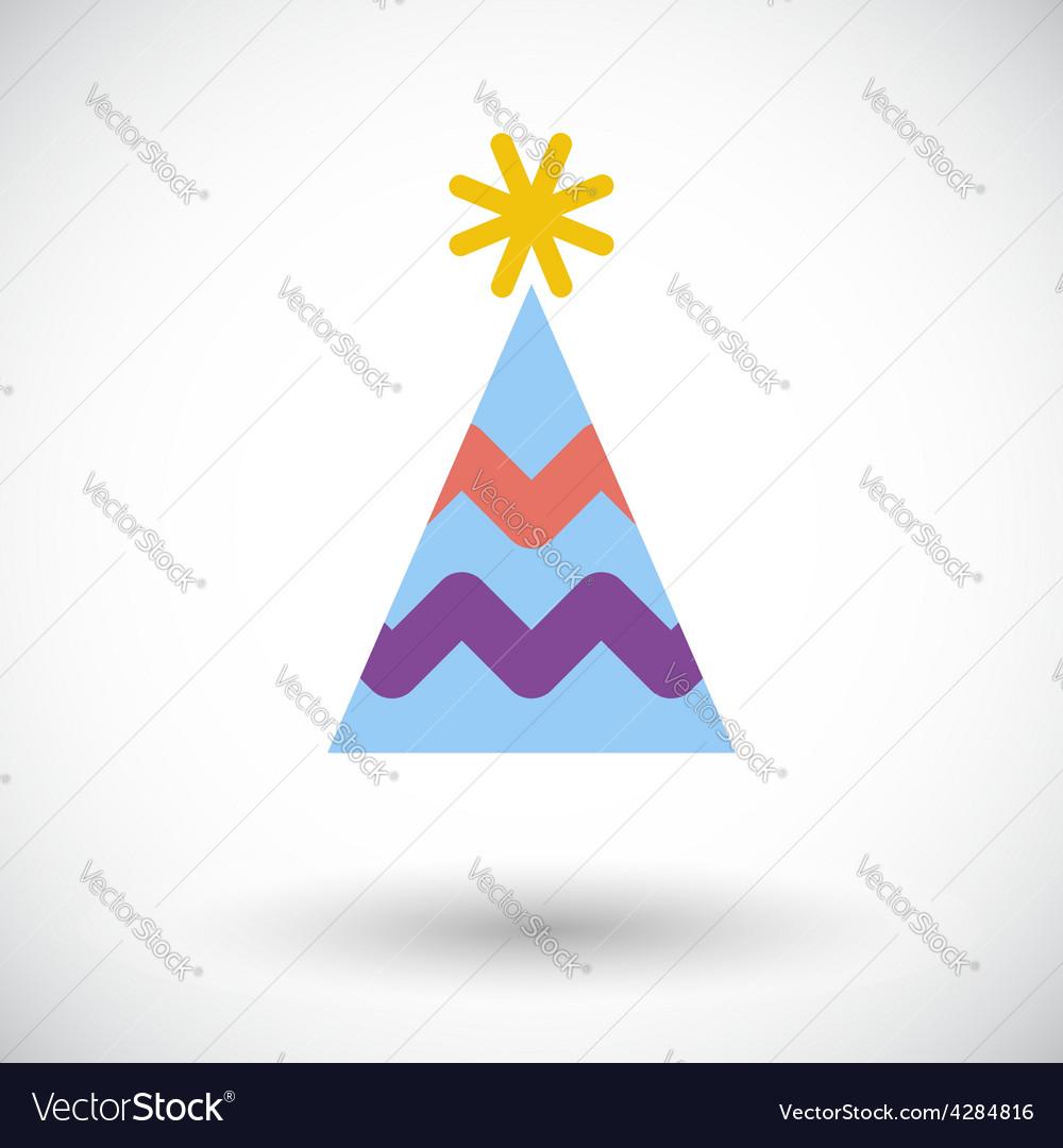 Holiday cap vector | Price: 1 Credit (USD $1)