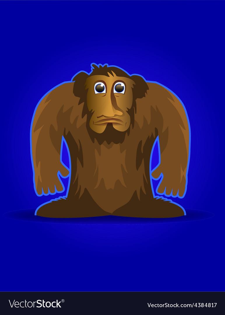 Bigfoot vector | Price: 1 Credit (USD $1)