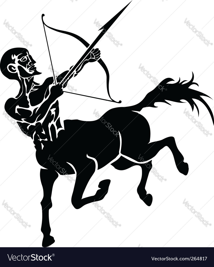 Centaur illustration vector | Price: 1 Credit (USD $1)