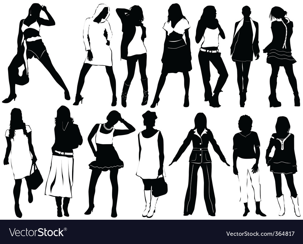 Fashion women vector | Price: 1 Credit (USD $1)