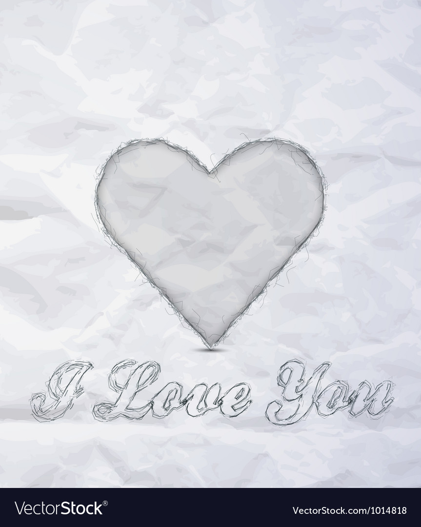 Message i love you vector | Price: 1 Credit (USD $1)