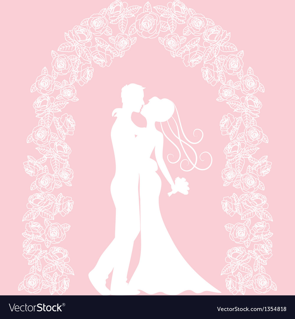 Roses arch vector | Price: 1 Credit (USD $1)