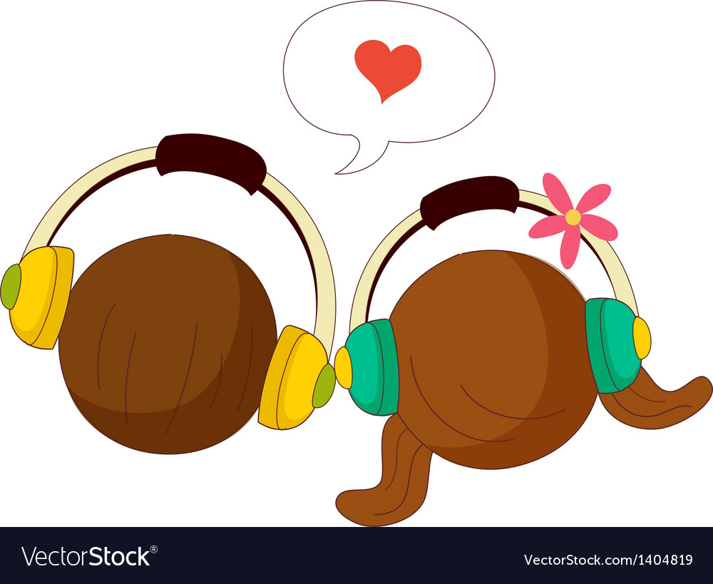 A pair of headphones vector | Price: 1 Credit (USD $1)
