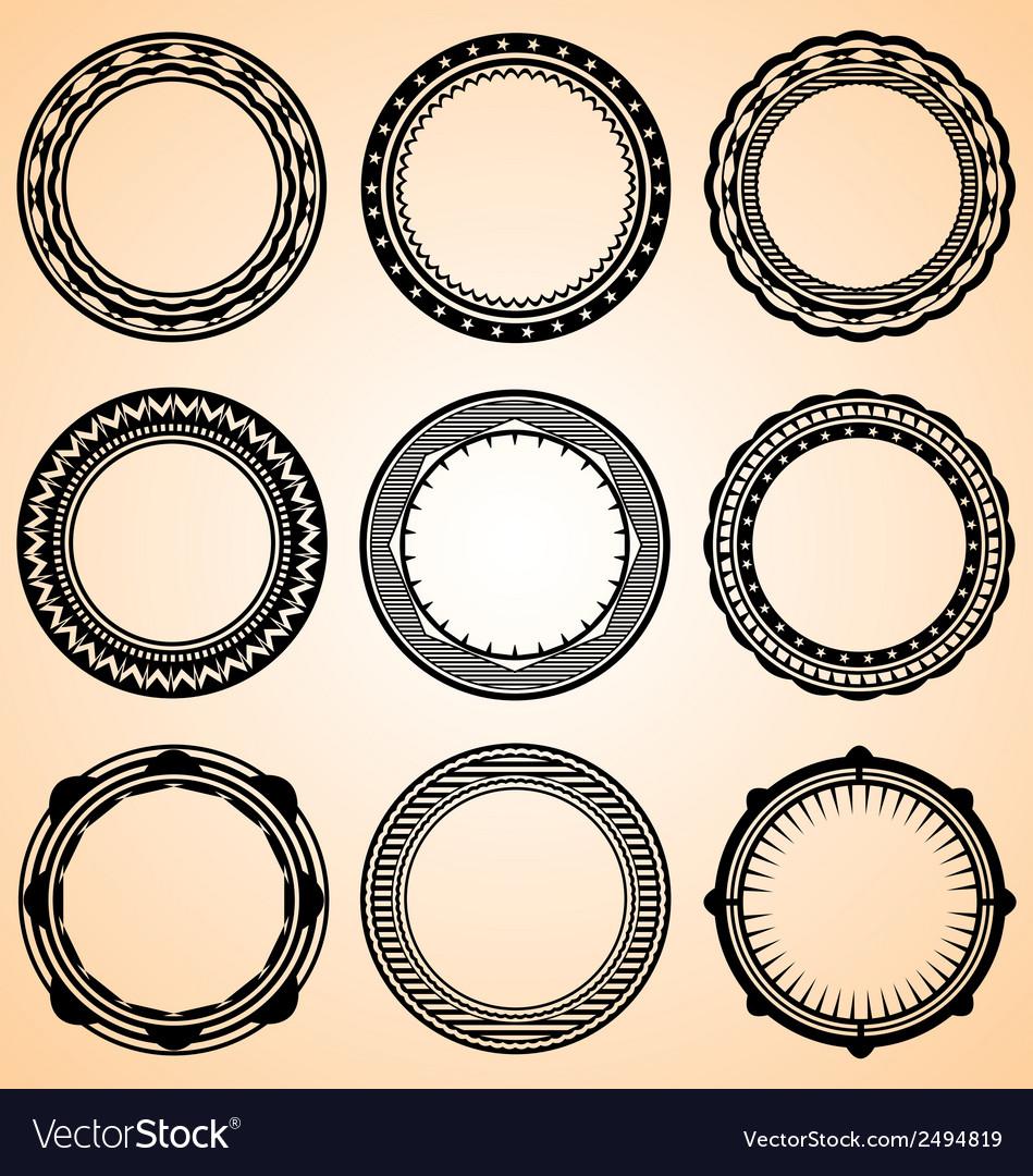 Decorative circular vector | Price: 1 Credit (USD $1)