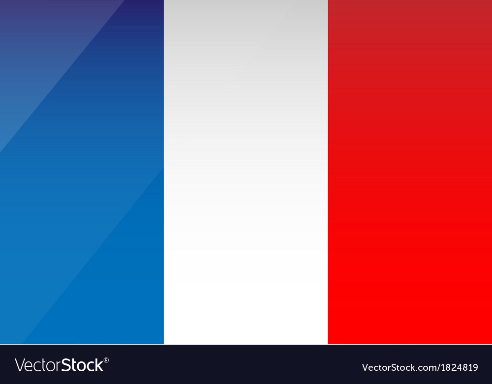 France flag vector   Price: 1 Credit (USD $1)