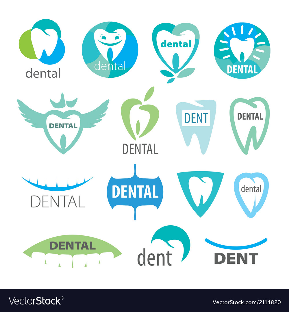 Biggest collection of logos dentistry vector | Price: 1 Credit (USD $1)