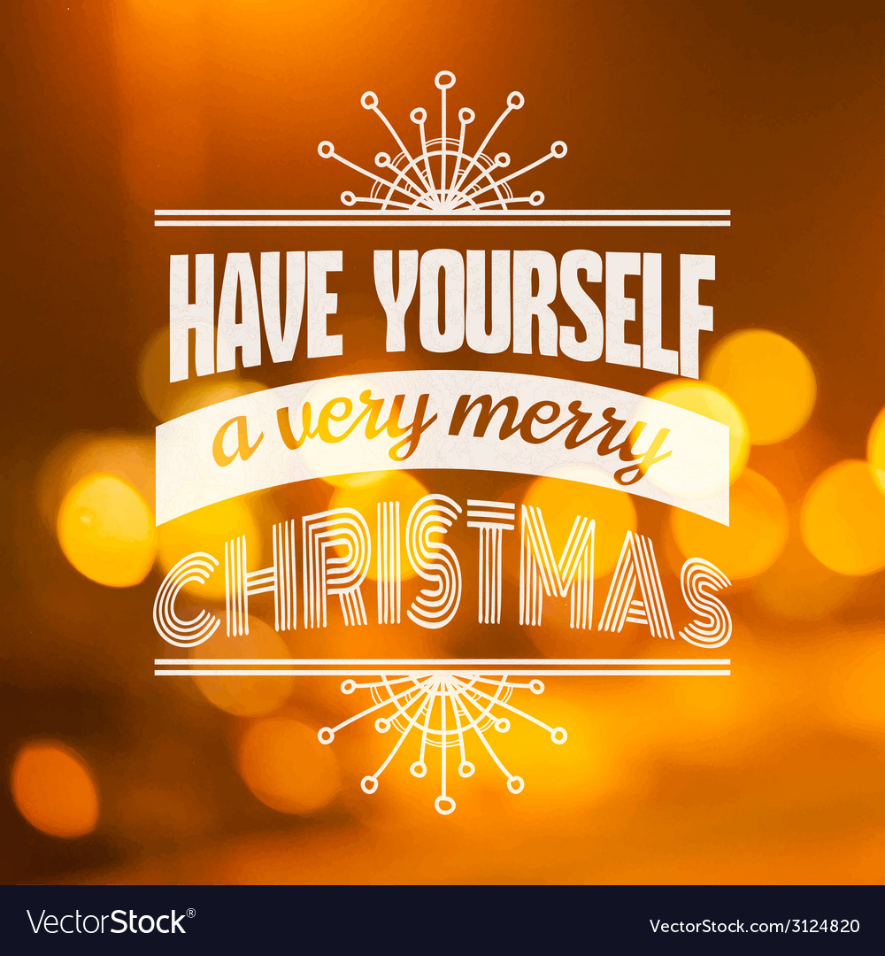 Christmas calligraphic card - for invitation vector | Price: 1 Credit (USD $1)